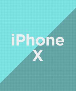 Customize iPhone X