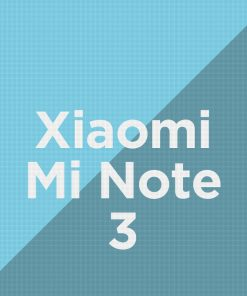 Customize Xiaomi Mi Note 3