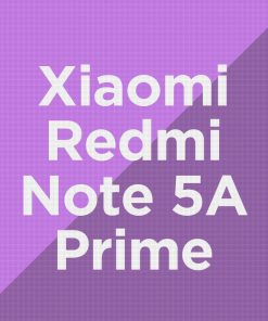 Customize Xiaomi Redmi Note 5A Prime
