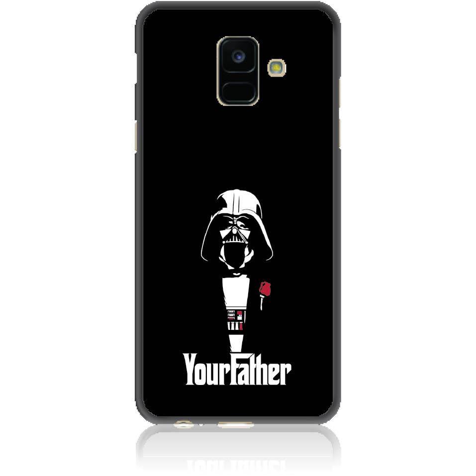 The Darhvader Phone Case Design 50004  -  Samsung Galaxy A6 (2018)  -  Soft Tpu Case