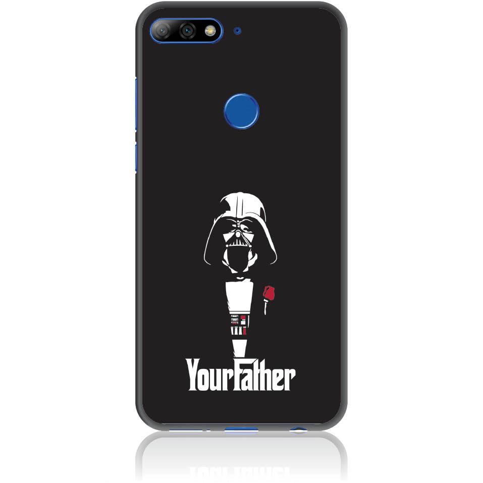 The Darhvader Phone Case Design 50004  -  Huawei Y7 Prime 2018  -  Soft Tpu Case