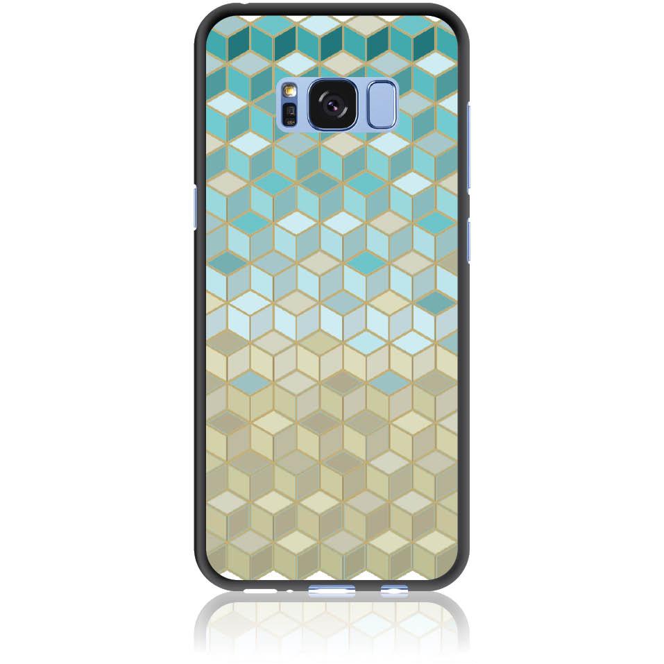 Pattern Phone Case Design 50034  -  Samsung Galaxy S8  -  Soft Tpu Case