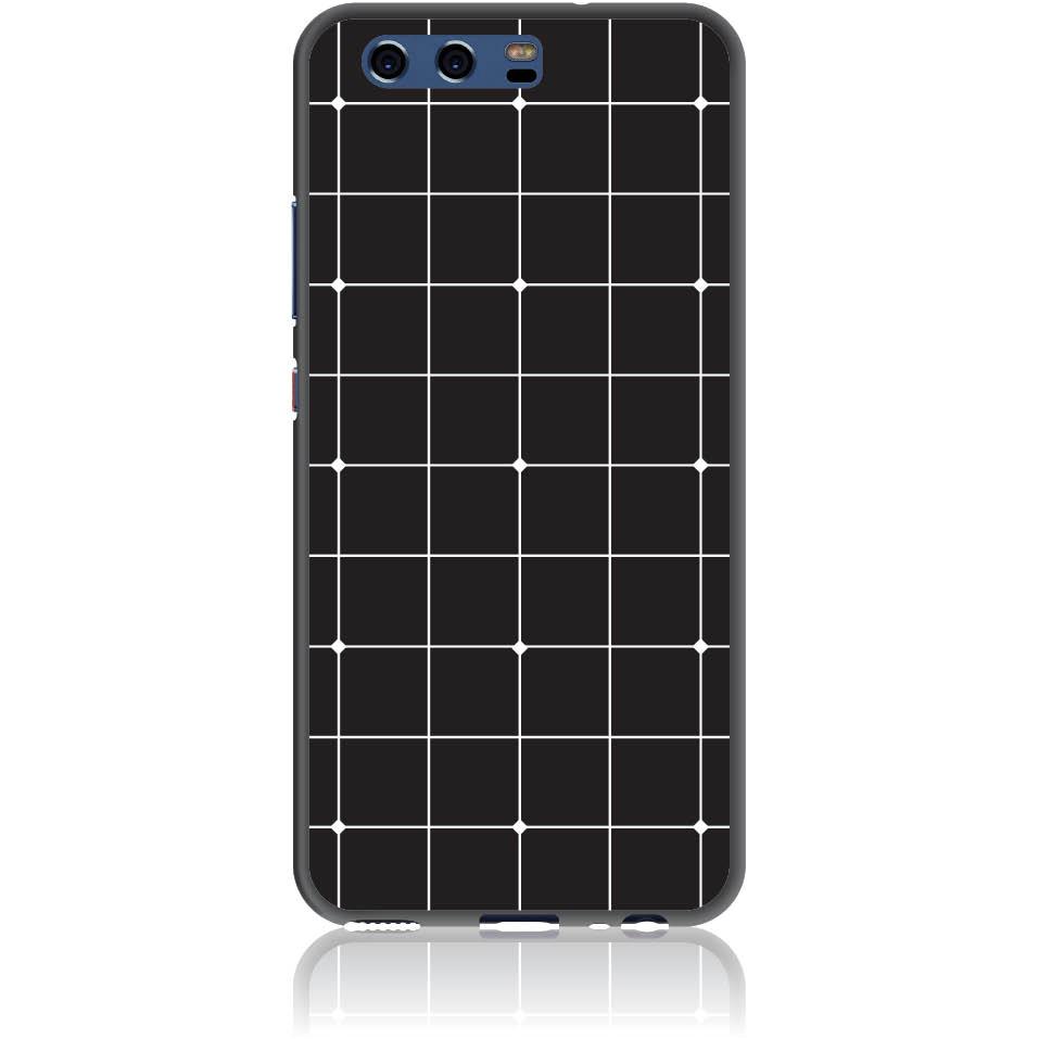 Pattern Black Lines Case Design 50035  -  Huawei P10  -  Soft Tpu Case