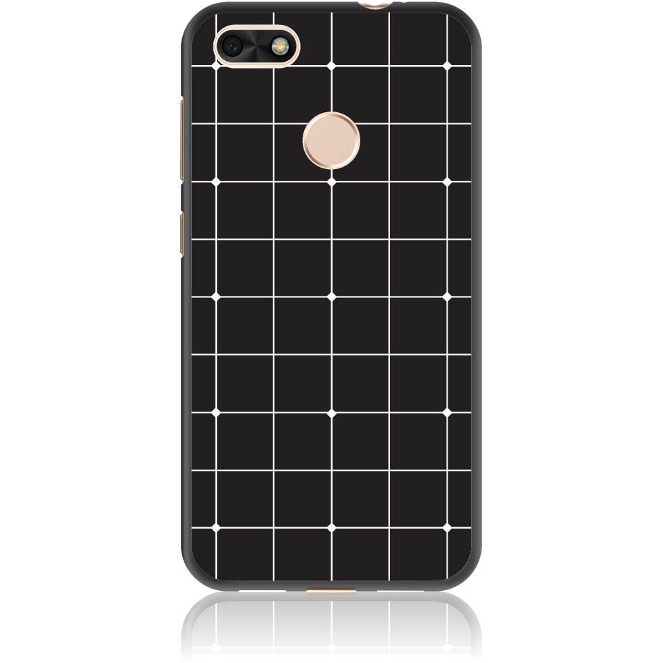 Pattern Black Lines Case Design 50035  -  Huawei P9 Lite Mini  -  Soft Tpu Case
