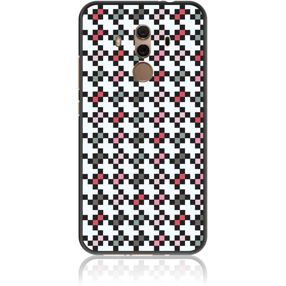 Pattern Tetris Phone Case Design 50036  -  Huawei Mate 10 Pro  -  Soft Tpu Case