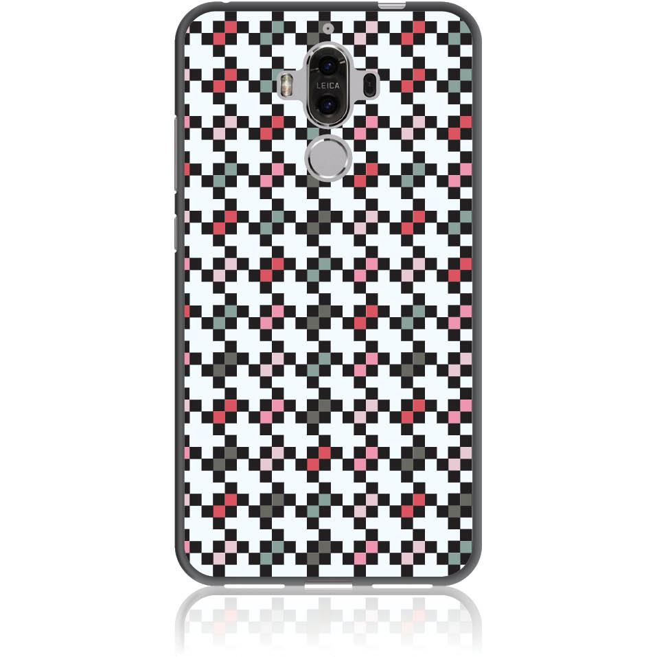 Pattern Tetris Phone Case Design 50036  -  Huawei Mate 9  -  Soft Tpu Case