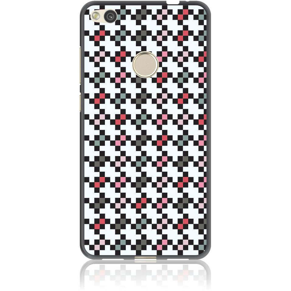 Pattern Tetris Phone Case Design 50036  -  Huawei Nova Lite  -  Soft Tpu Case