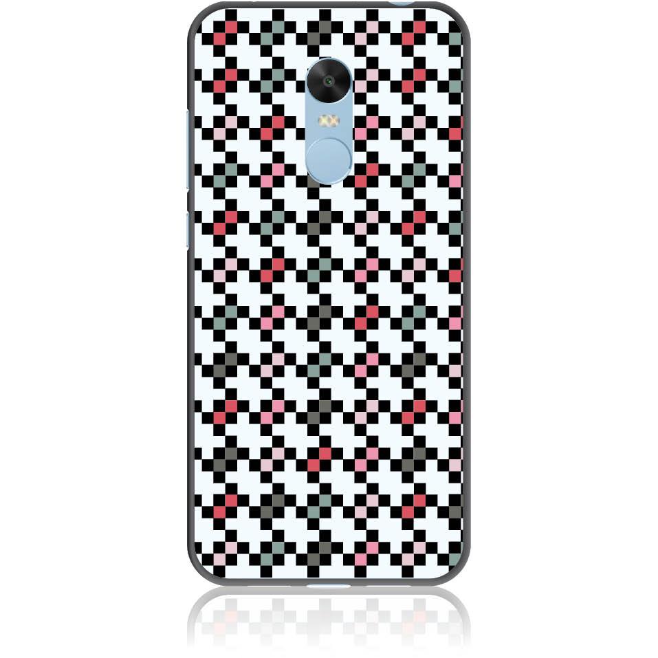 Pattern Tetris Phone Case Design 50036  -  Xiaomi Redmi 5 Plus (or Redmi Note 5)  -  Soft Tpu Case