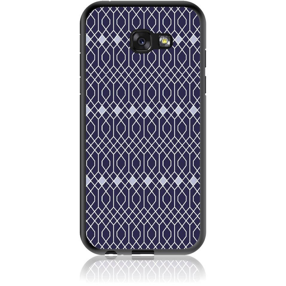 Rhombus Pattern Phone Case Design 50037  -  Samsung Galaxy A5 (2017)  -  Soft Tpu Case