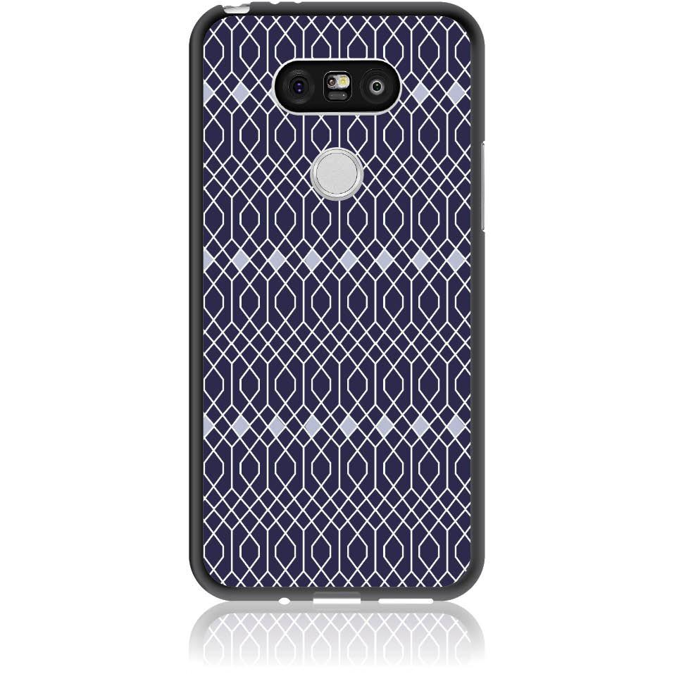 Rhombus Pattern Phone Case Design 50037  -  Lg G5  -  Soft Tpu Case