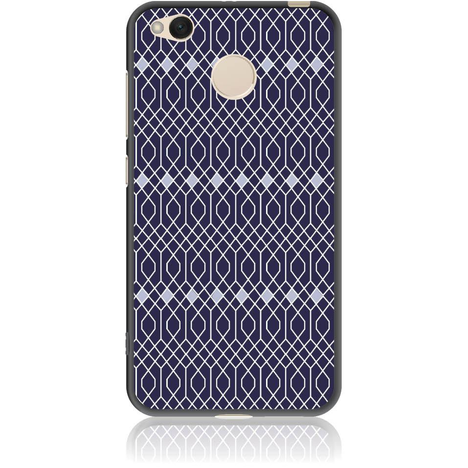 Rhombus Pattern Phone Case Design 50037  -  Xiaomi Redmi 4x  -  Soft Tpu Case