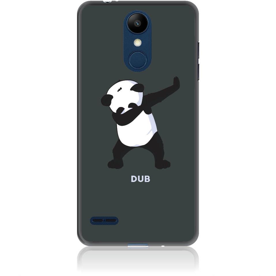 Dub Panda Dance Phone Case Design 50050  -  Lg K8 (2018) / Lg K9 For Russia  -  Soft Tpu Case