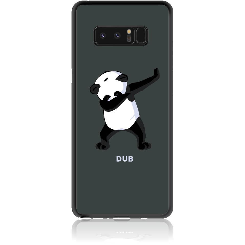 Dub Panda Dance Phone Case Design 50050  -  Samsung Galaxy Note 8  -  Soft Tpu Case