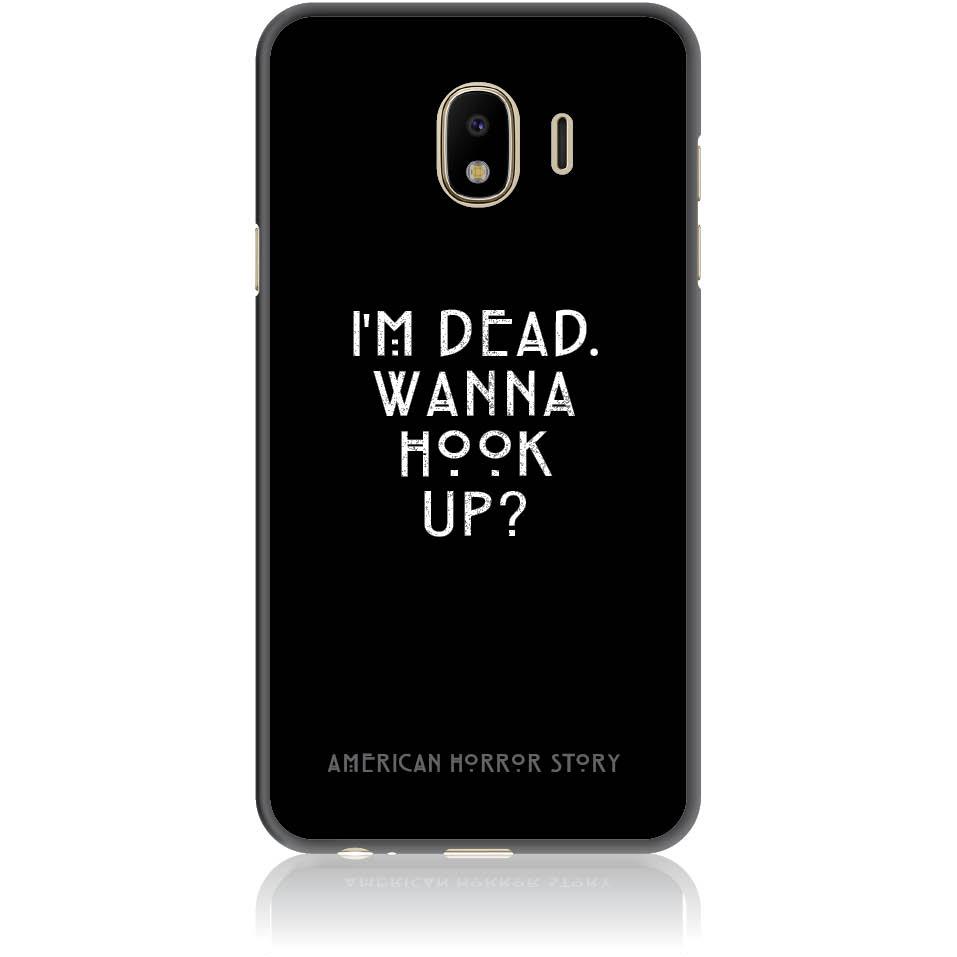 Wanna Hook Up? Horror Story Phone Case Design 50053  -  Samsung J4  -  Soft Tpu Case