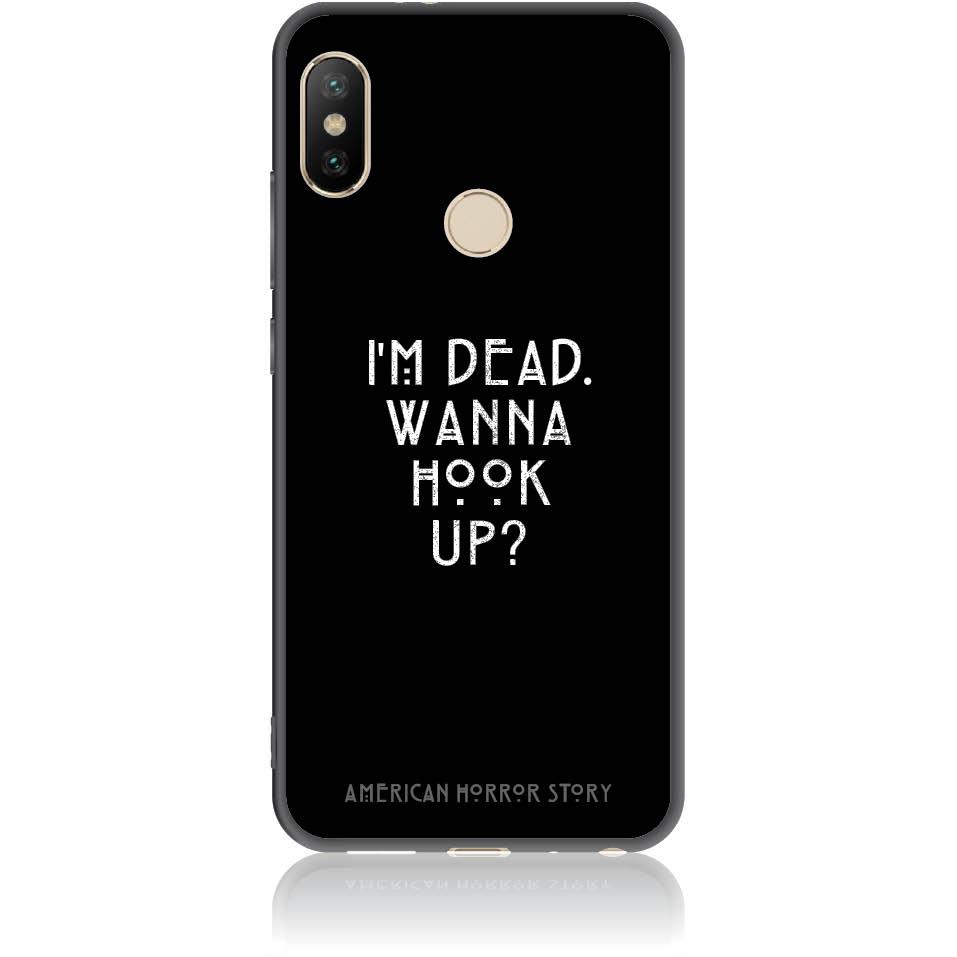 Wanna Hook Up? Horrstory Phone Case Design 50053 - Redmi Note 5/note 5 Pro - Soft Tpu Case