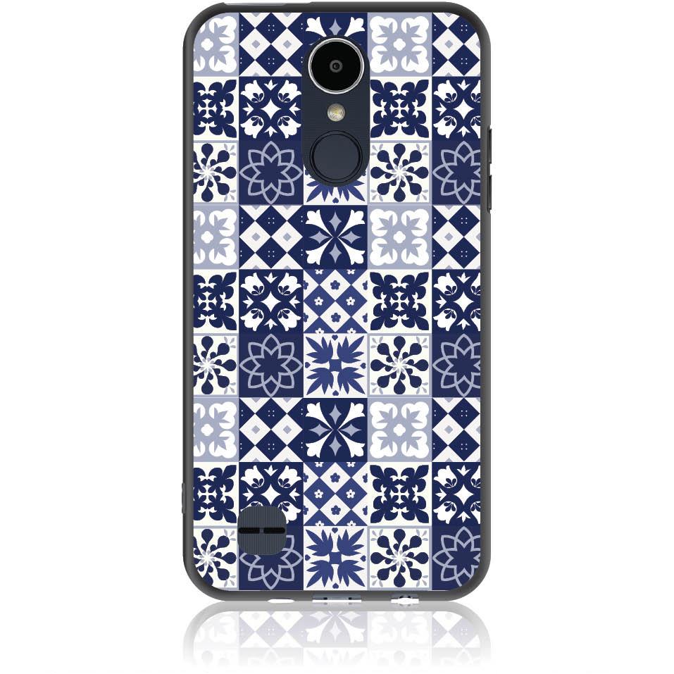Blue Vintage Phone Case Design 50094  -  Lg K8 2017  -  Soft Tpu Case