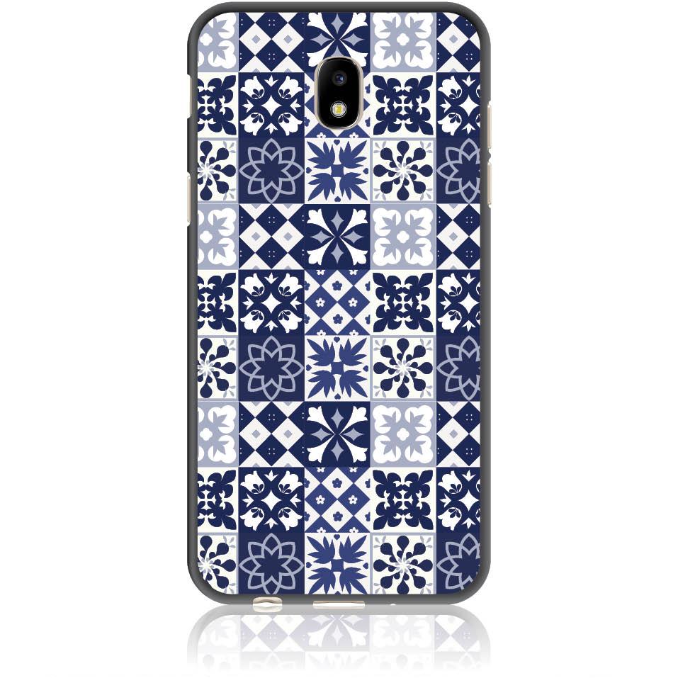 Blue Vintage Phone Case Design 50094  -  Samsung Galaxy J5 (2017) J530  -  Soft Tpu Case