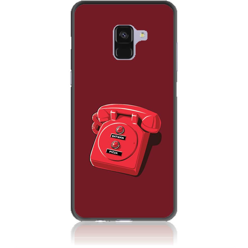 Retro Is Back Phone Case Design 50095  -  Samsung Galaxy A8+ (2018)  -  Soft Tpu Case