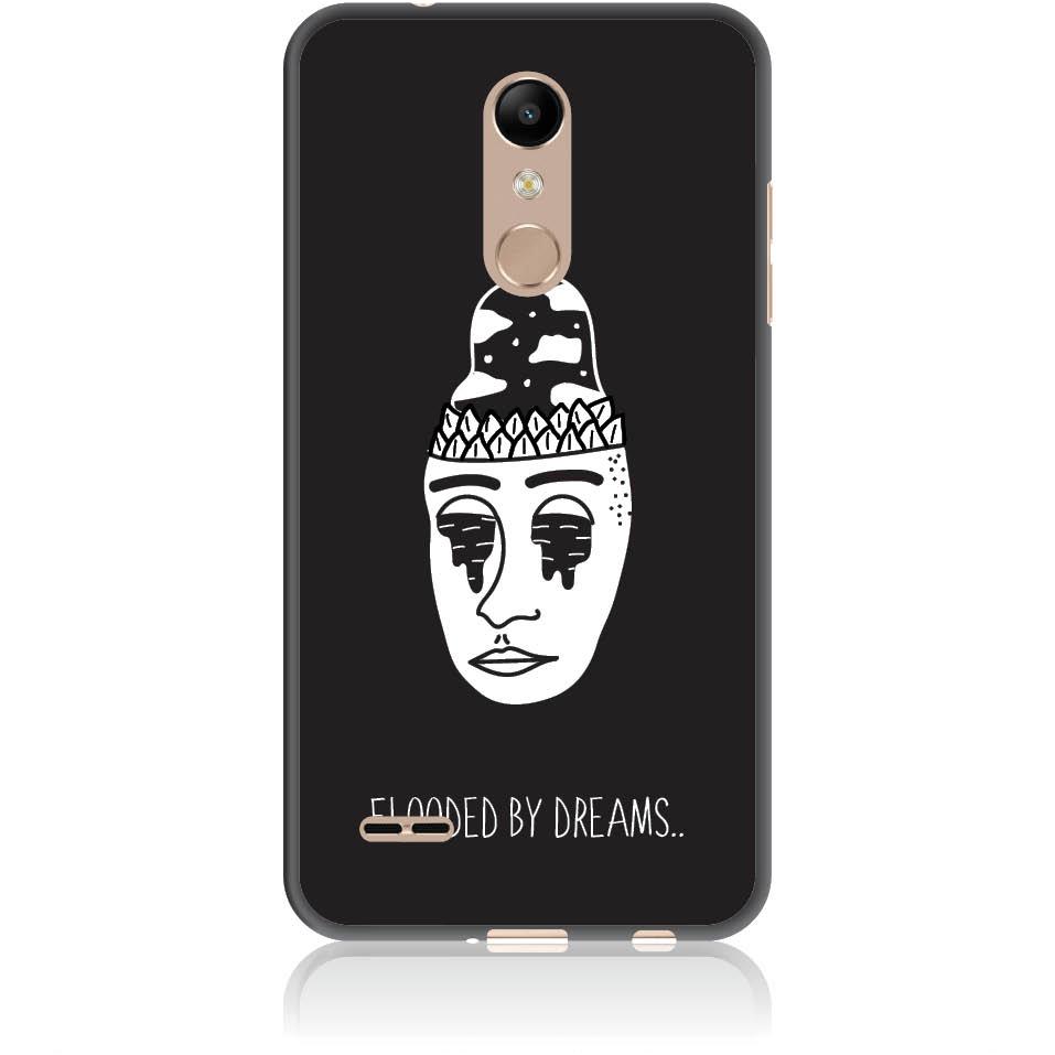 Flooded By Dreams Phone Case Design 50101  -  Lg K10 (2018)  -  Soft Tpu Case