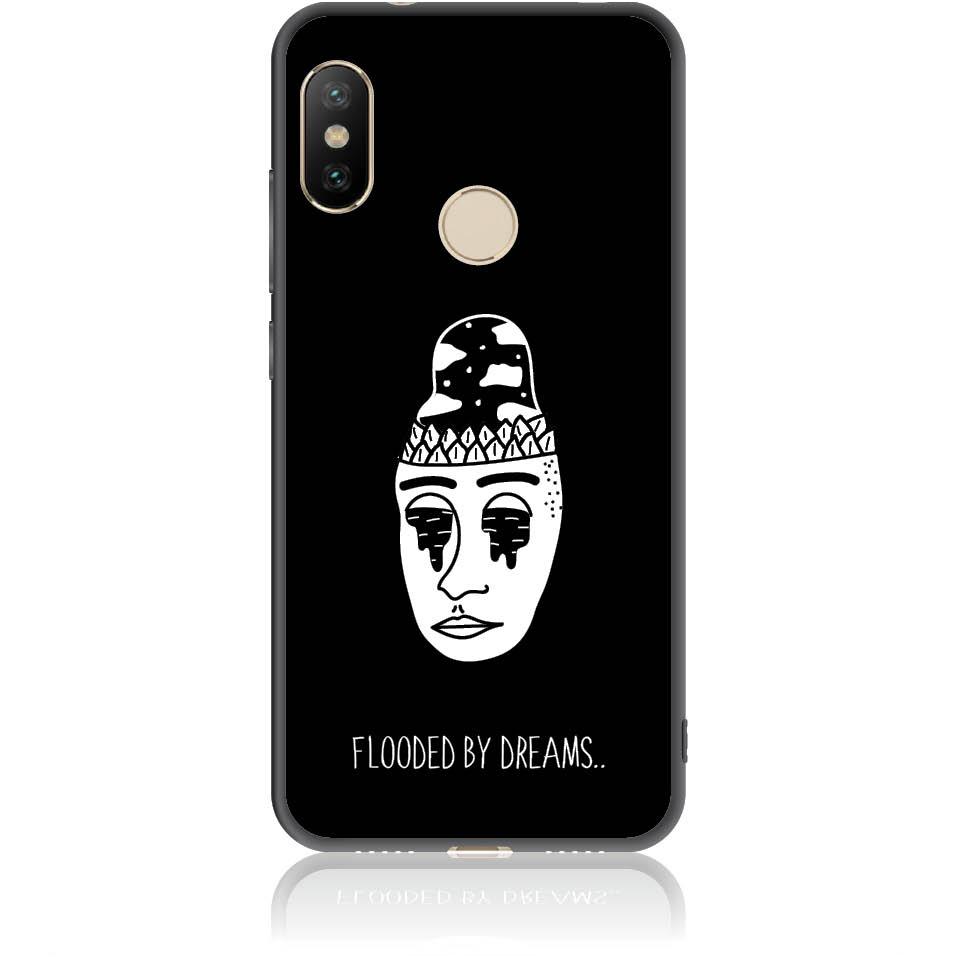 Flooded By Dreams Phone Case Design 50101  -  Xiaomi Redmi 6 Pro  -  Soft Tpu Case