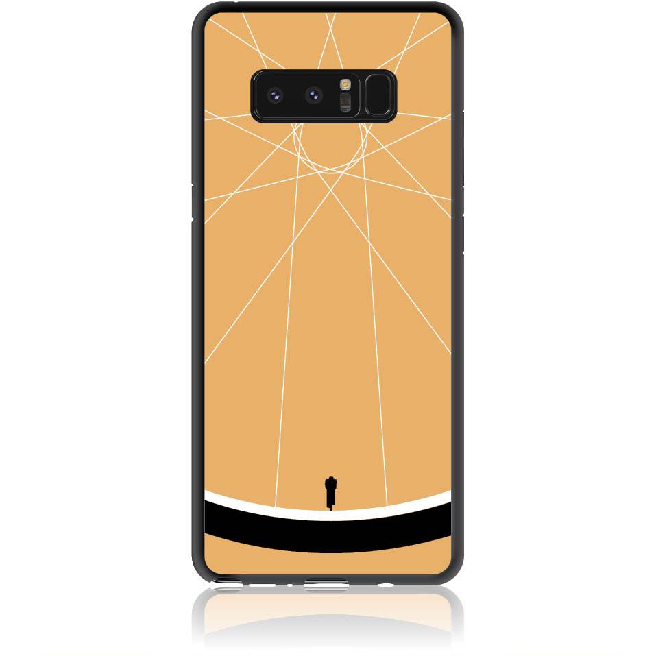 Cyclologist Minimal Phone Case Design 50110  -  Samsung Galaxy Note 8  -  Soft Tpu Case