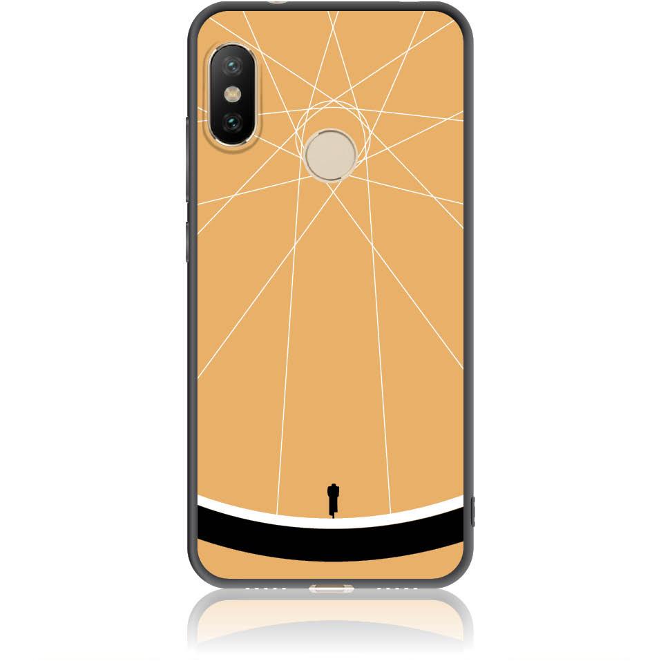 Cyclologist Minimal Phone Case Design 50110  -  Xiaomi Mi A2 Lite  -  Soft Tpu Case
