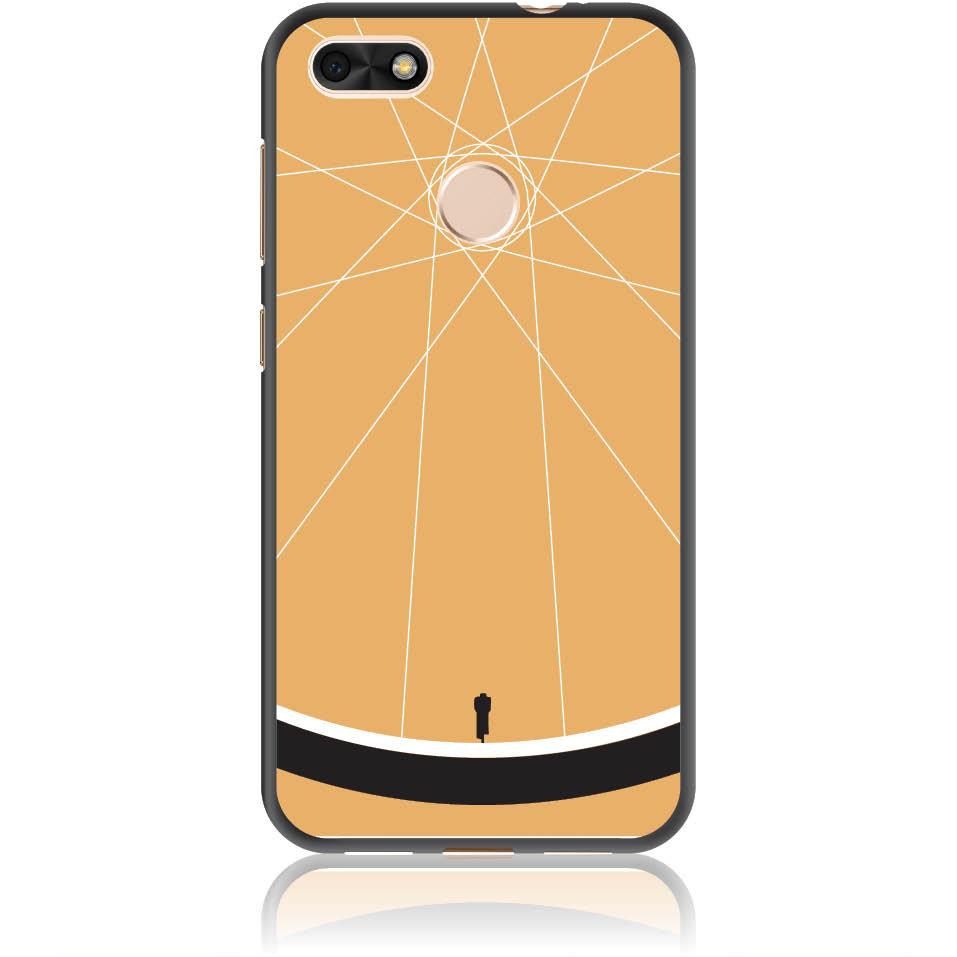 Cyclologist Minimal Phone Case Design 50110  -  Huawei Y6 Pro 2017  -  Soft Tpu Case