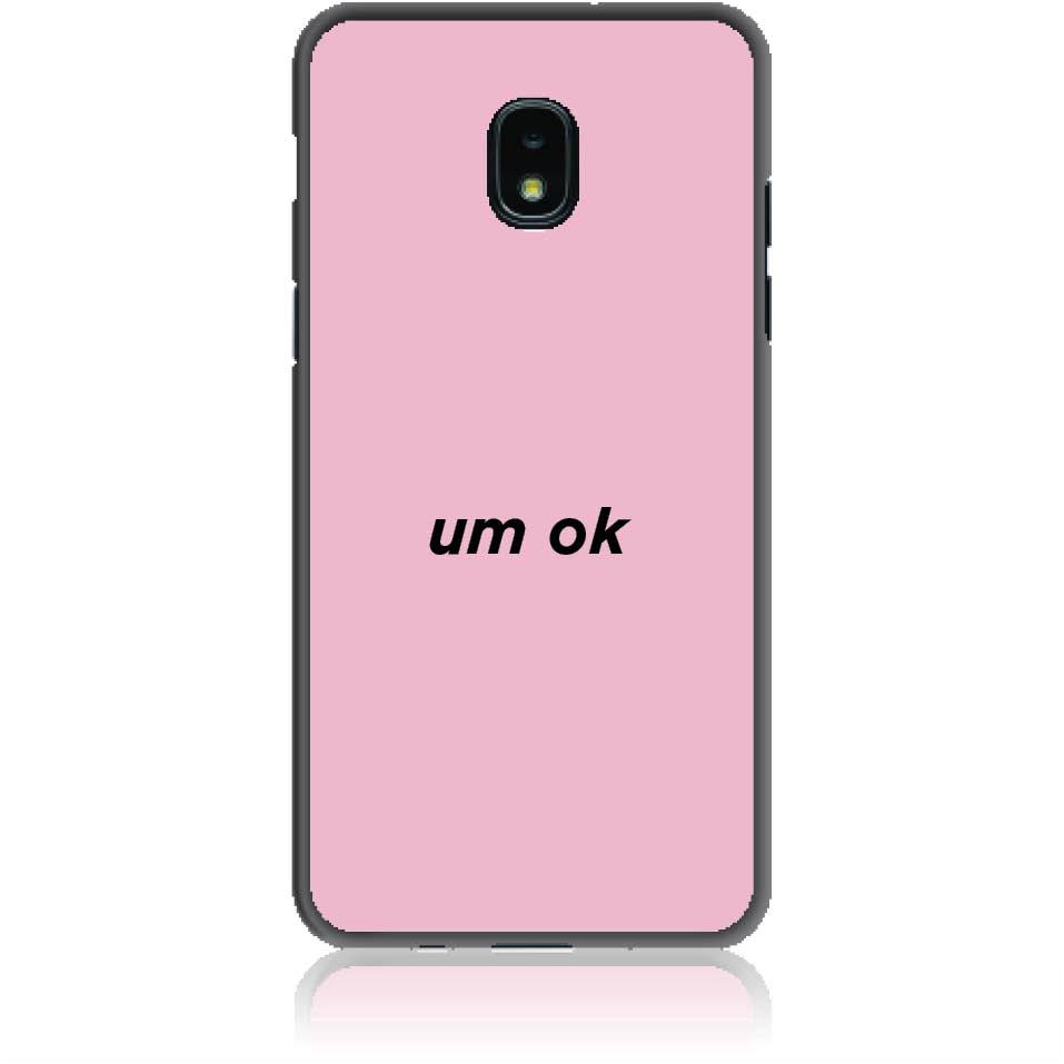 Case Design 50114  -  Samsung Galaxy J3 (2018)  -  Soft Tpu Case