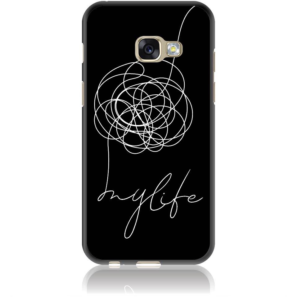 Life Is A Mess Phone Case Design 50150  -  Samsung Galaxy A3 (2017)  -  Soft Tpu Case