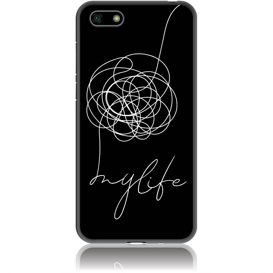 Life Is A Mess Phone Case Design 50150  -  Huawei Y5 2018  -  Soft Tpu Case