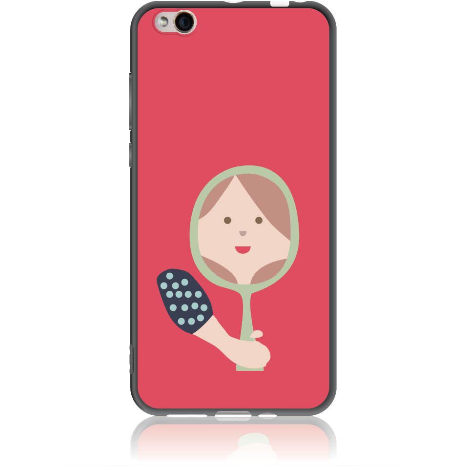 Mirro Mirror Phone Case Design 50164  -  Xiaomi Mi 5c  -  Soft Tpu Case
