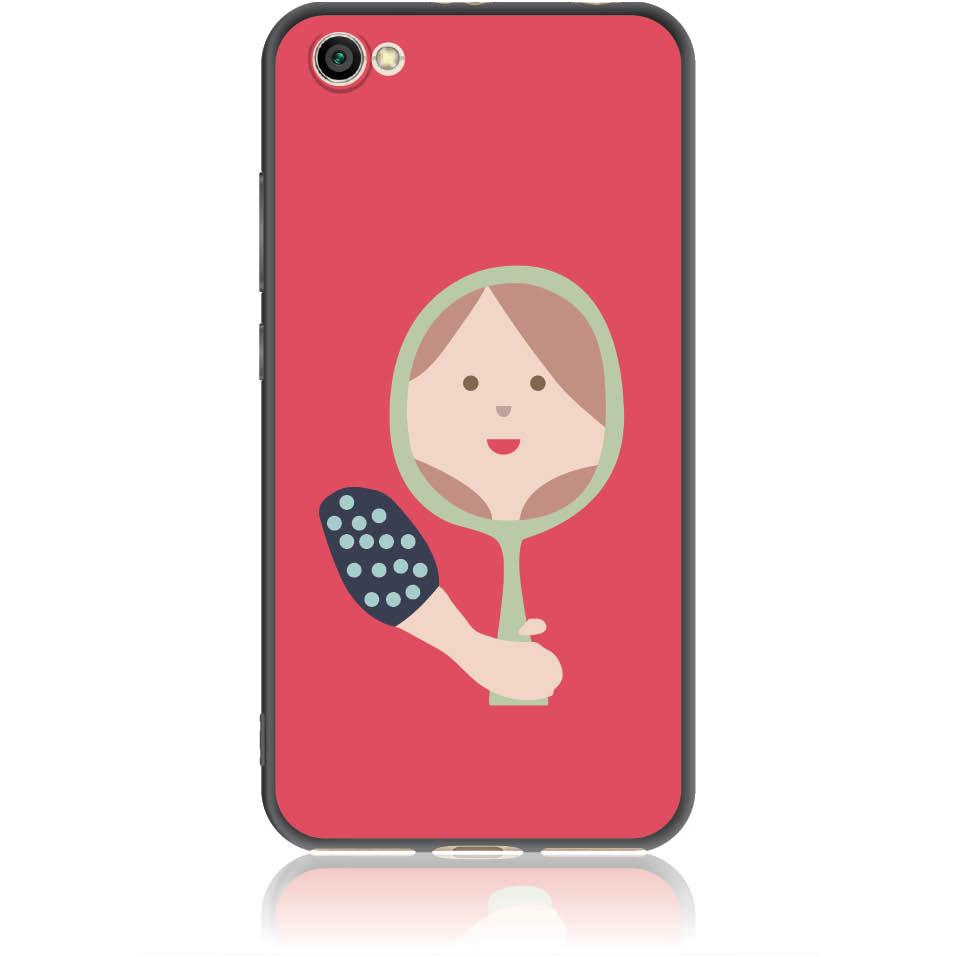 Mirro Mirror Phone Case Design 50164  -  Xiaomi Redmi Note 5a  -  Soft Tpu Case
