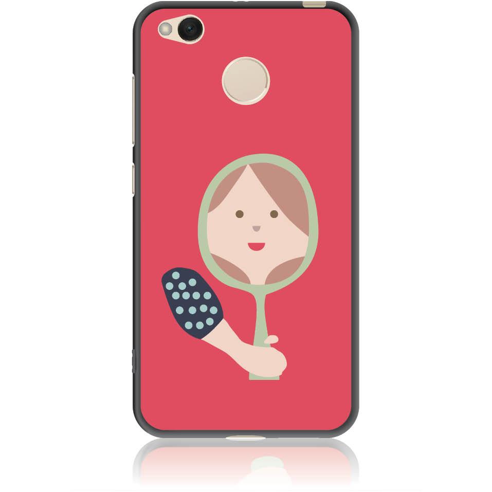 Mirro Mirror Phone Case Design 50164  -  Xiaomi Redmi 4x  -  Soft Tpu Case