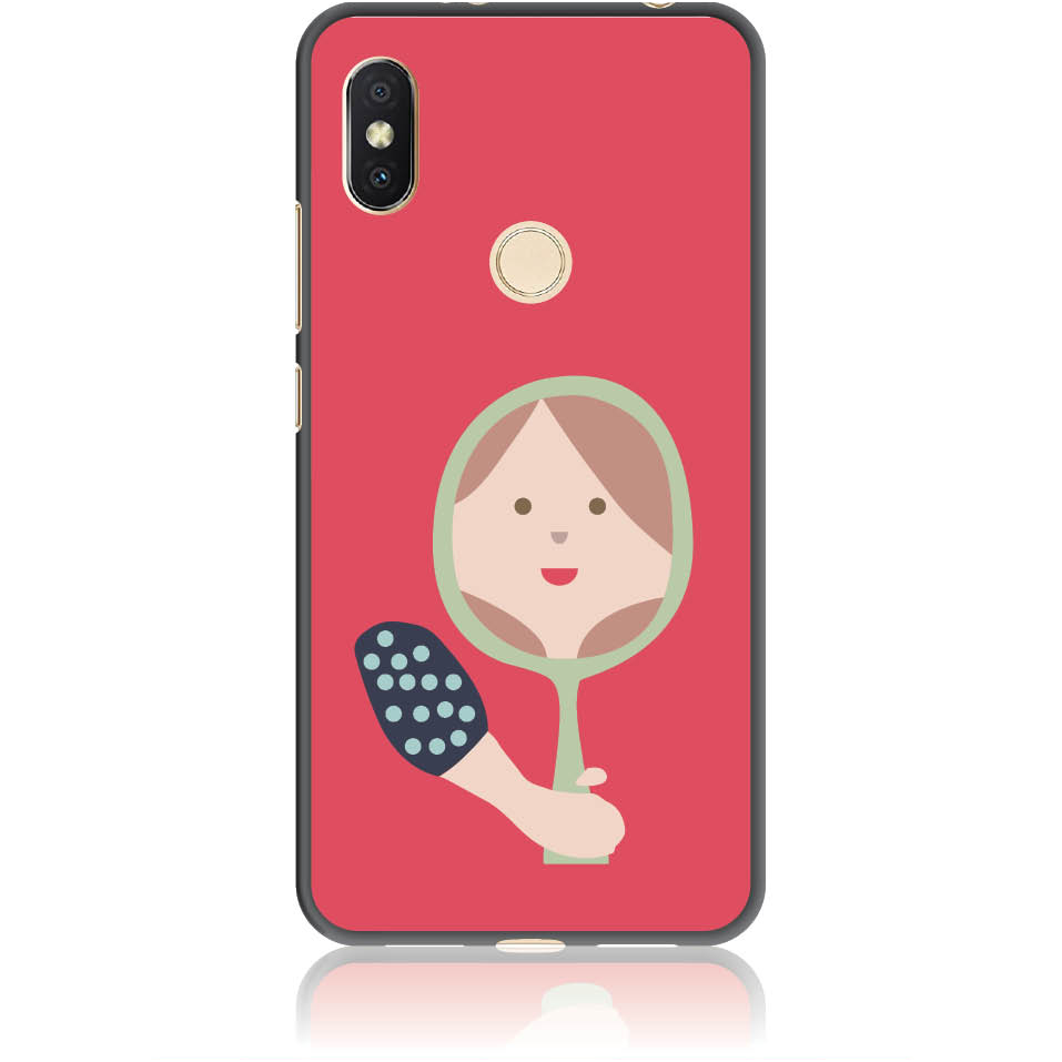 Mirro Mirror Phone Case Design 50164  -  Xiaomi Redmi Y2  -  Soft Tpu Case