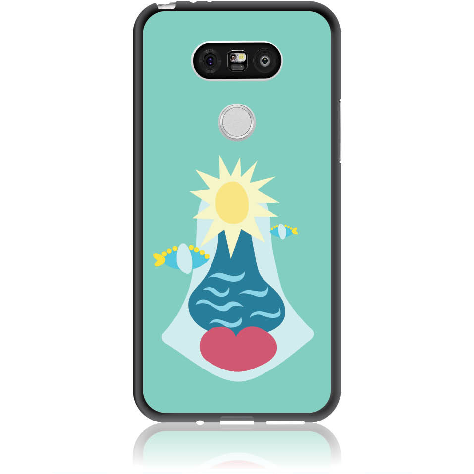 Summer Queen Phone Case Design 50167  -  Lg G5  -  Soft Tpu Case