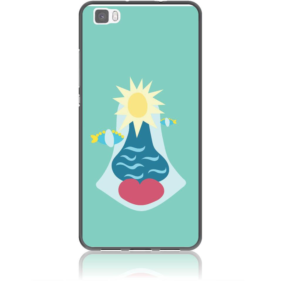 Summer Queen Phone Case Design 50167  -  Huawei P8 Lite  -  Soft Tpu Case