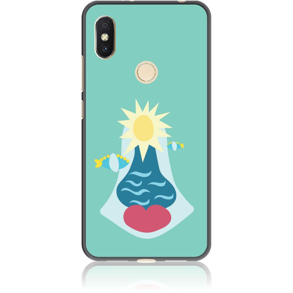 Summer Queen Phone Case Design 50167  -  Xiaomi Redmi S2  -  Soft Tpu Case