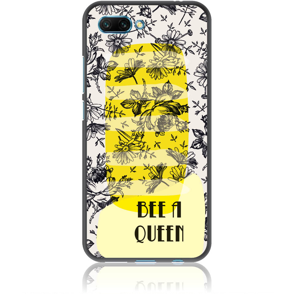Bee A Queen Phone Case Design 50169  -  Honor 10  -  Soft Tpu Case