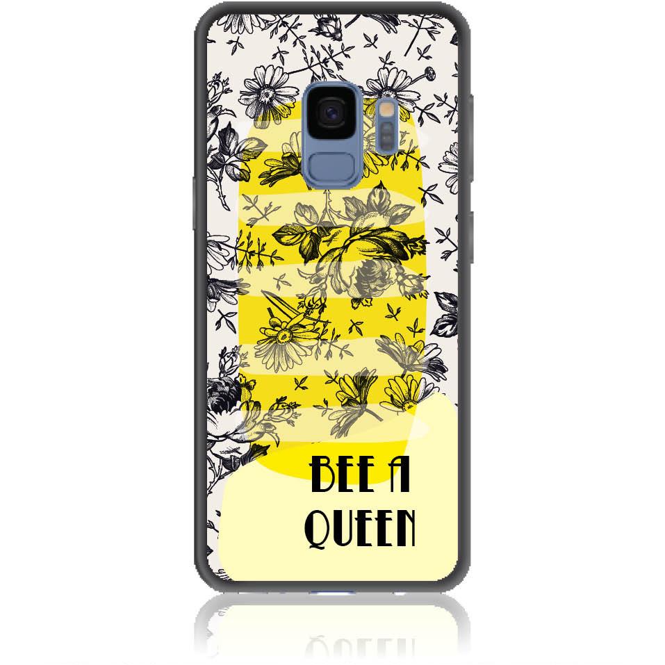 Bee A Queen Phone Case Design 50169  -  Samsung Galaxy S9  -  Soft Tpu Case