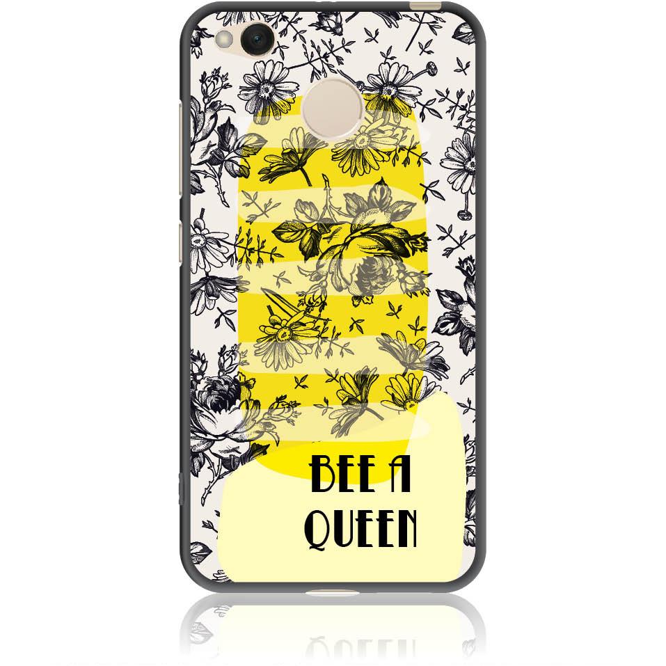Bee A Queen Phone Case Design 50169  -  Xiaomi Redmi 4x  -  Soft Tpu Case