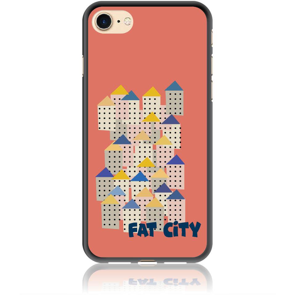 Fat City Pastel Phone Case Design 50171  -  Iphone 7  -  Soft Tpu Case