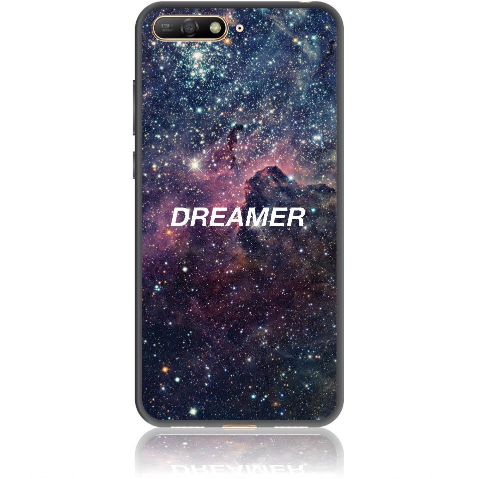 Dreamer Night Sky Phone Case Design 50181  -  Huawei Y6 2018  -  Soft Tpu Case