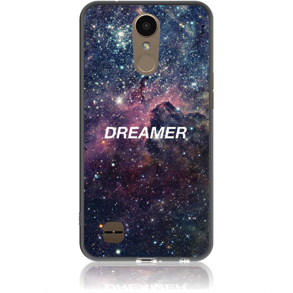 Dreamer Night Sky Phone Case Design 50181  -  Lg K10 2017  -  Soft Tpu Case
