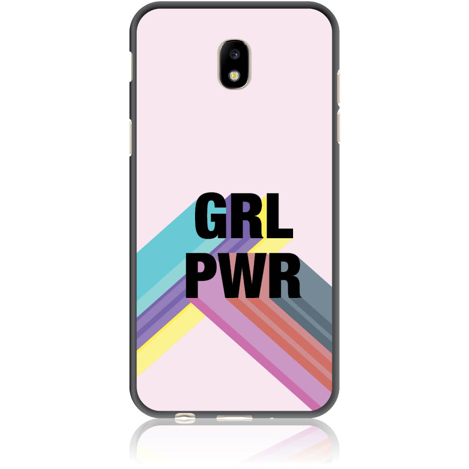 Girl Power Identity Phone Case Design 50192  -  Samsung Galaxy J5 (2017) J530  -  Soft Tpu Case