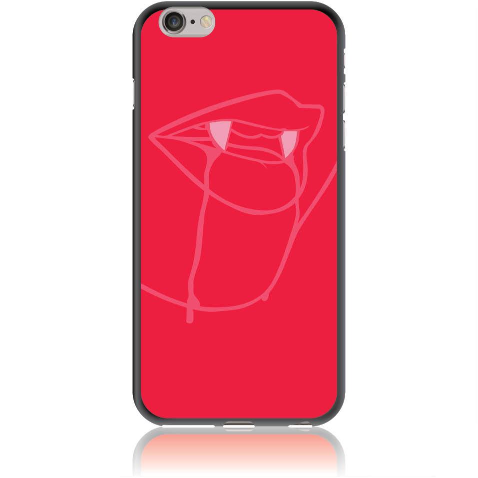 Sexy Vimpire Red Phone Case Design 50226  -  Iphone 6/6s Plus  -  Soft Tpu Case