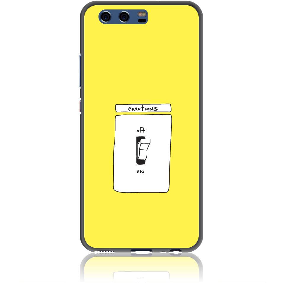 Emotions Off Phone Case Design 50228  -  Huawei P10  -  Soft Tpu Case
