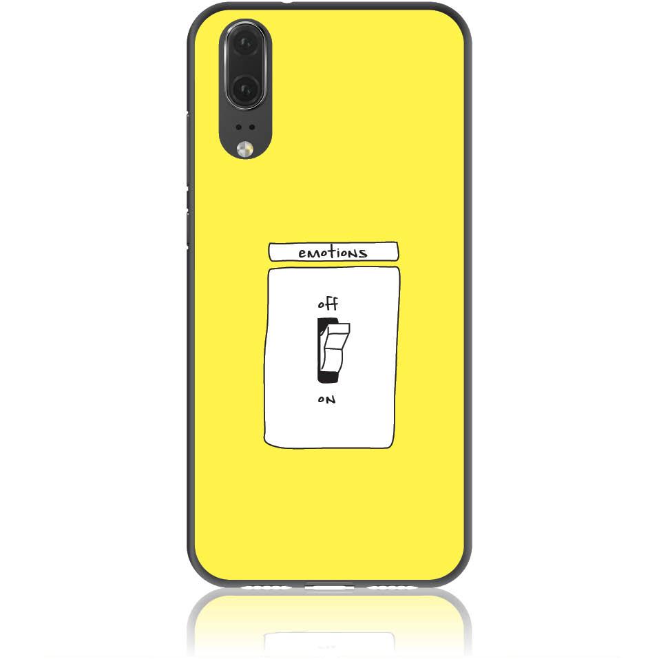 Emotions Off Phone Case Design 50228  -  Huawei P20  -  Soft Tpu Case
