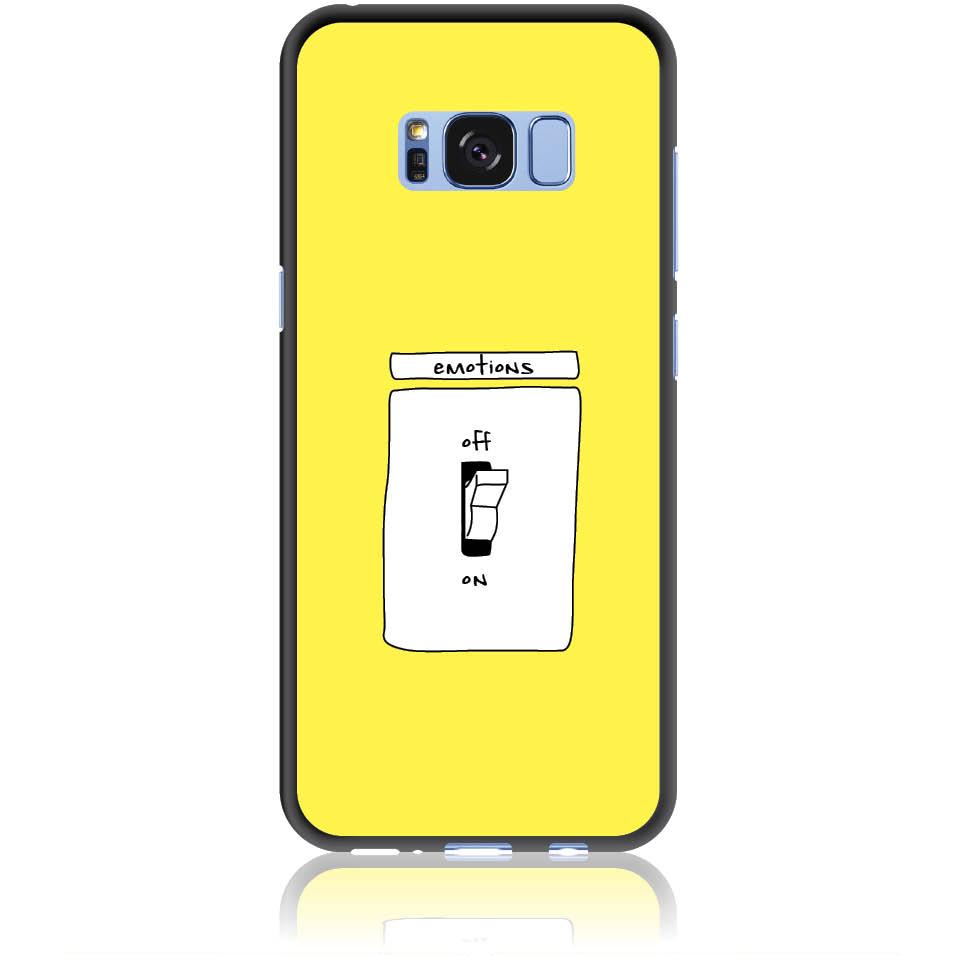 Emotions Off Phone Case Design 50228  -  Samsung Galaxy S8  -  Soft Tpu Case