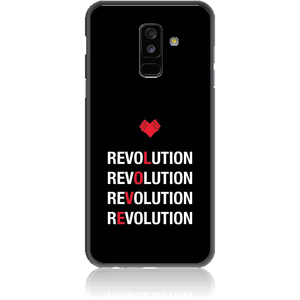 Love Revolution Phone Case Design 50230  -  Samsung Galaxy A6+ (2018)  -  Soft Tpu Case