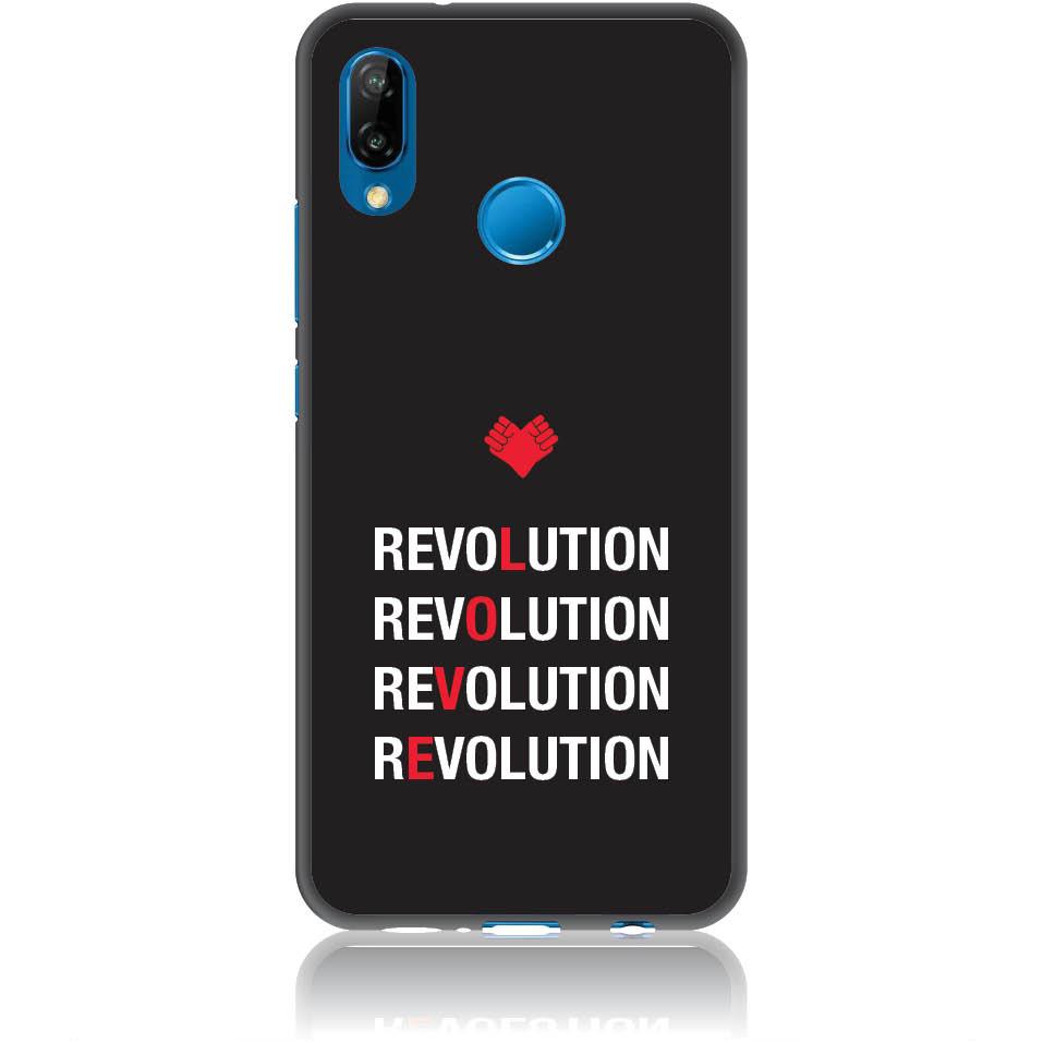 Love Revolution Phone Case Design 50230  -  Huawei P20 Lite  -  Soft Tpu Case